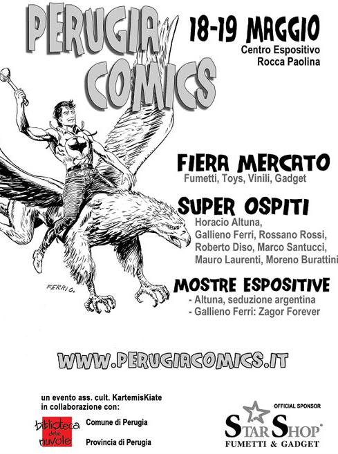 Locandina di Perugia Comics