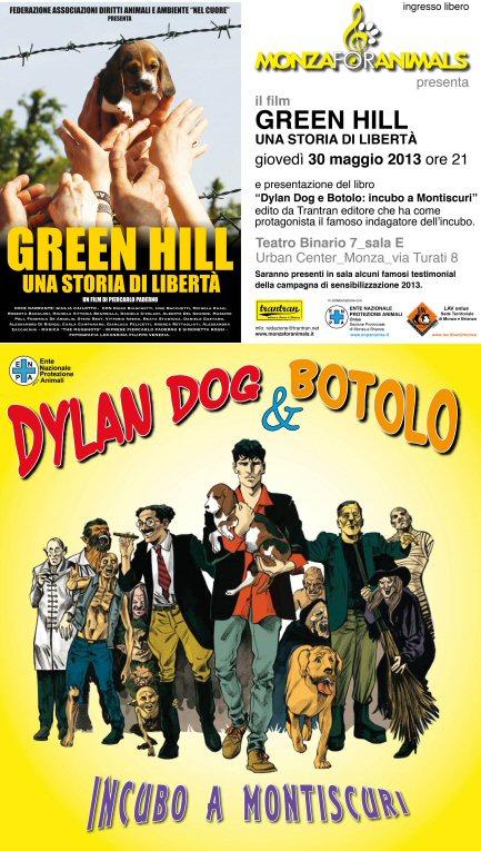 Dylan Dog a Monza in difesa degli animali