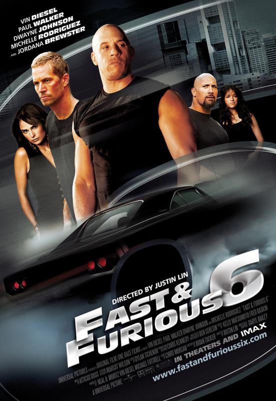 Locandina di Fast & Furious 6