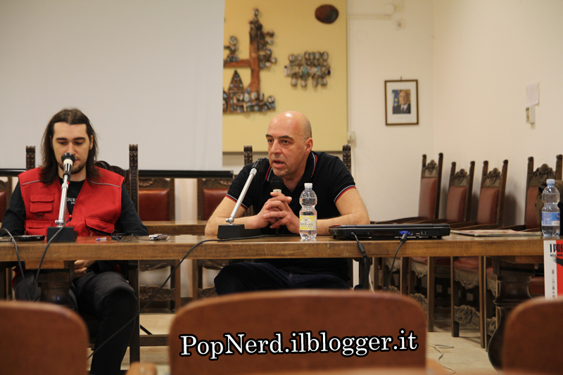 Ade Capone ad Albissola Comics 2013