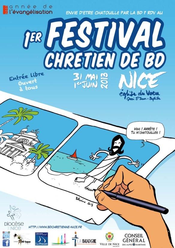 Il primo Festival del Fumetto Cristiano di Nizza: un breve resoconto