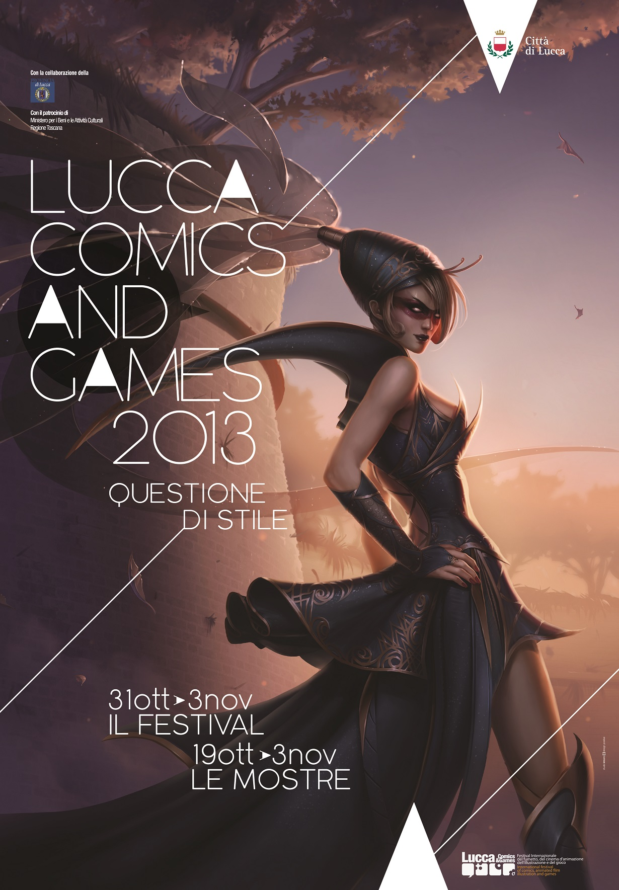 Lucca Comics 2013 manifesto