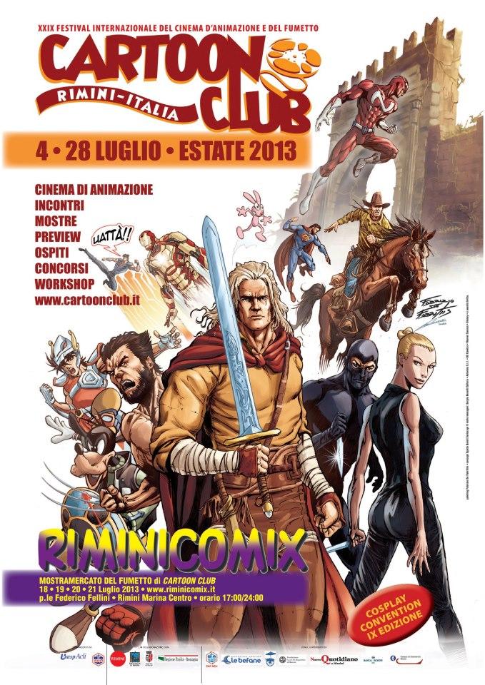Rimini Comix 2013: il programma e gli ospiti