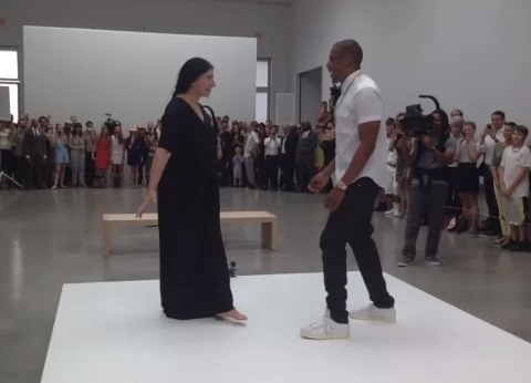 Marina Abramovic e Jay-Z, un video inatteso
