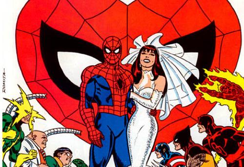 I più famosi matrimoni Marvel e DC Comics