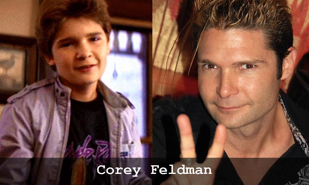 Corey Feldman ne I Goonies