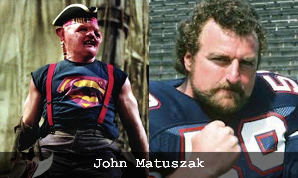 John Matuszak in I Goonies