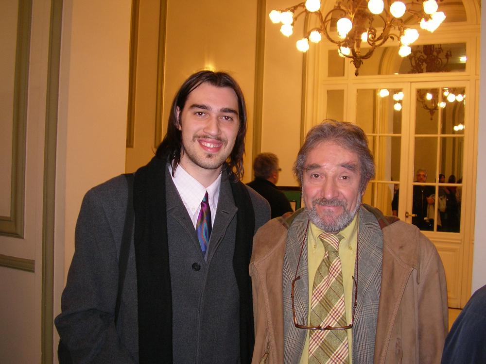 Io con Andrea Brambilla (Zuzzurro)
