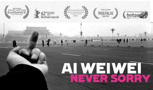 E se al posto di Ai Weiwei c'è una sedia vuota…