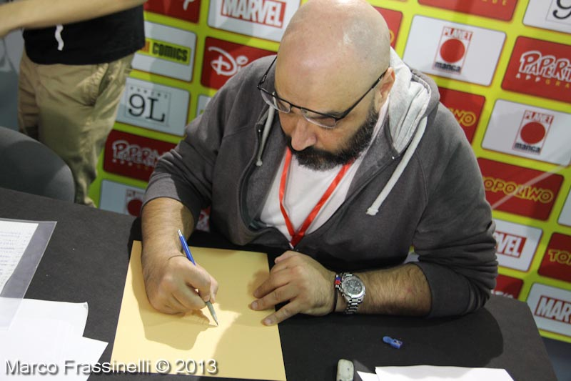 Lucca-comics-2013-Andrea-Freccero