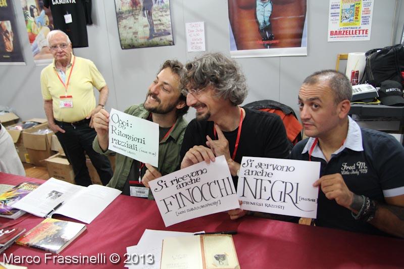 Lucca Comics 2013: resoconto padiglione Napoleone