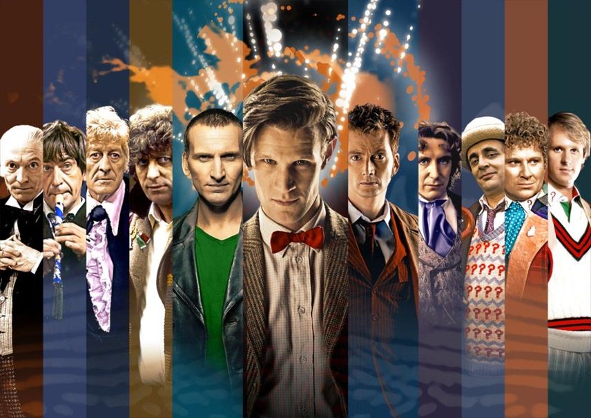 Buon compleanno Doctor Who! Tutti i dottori per festeggiare i 50 anni