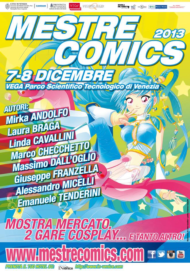 Mestre Comics 2013: gli ospiti e il programma