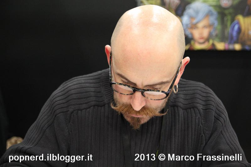 Fumettisti all'opera (1): Simon Davis