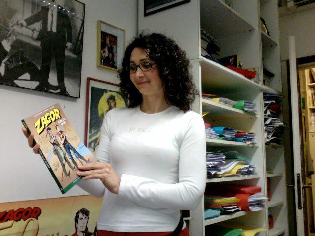 Intervista a Simona Denna, disegnatrice di Nathan Never