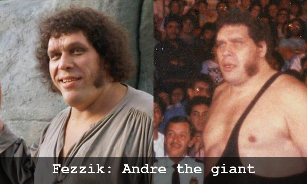 Andre the giant in La storia fantatica