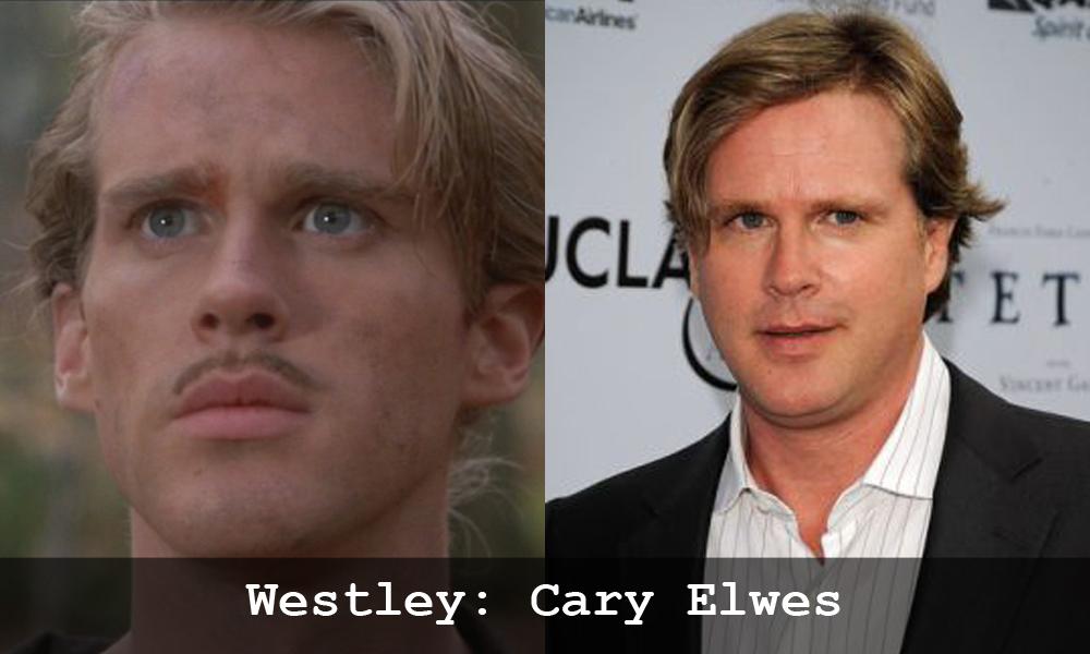 Cary Elwes in La storia fantatica