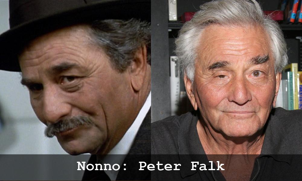 Peter Falk in La storia fantatica