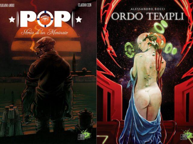 Pop / Ordo Templi: recensione del flipbook di Fabiano Ambu e Alessandro Bocci