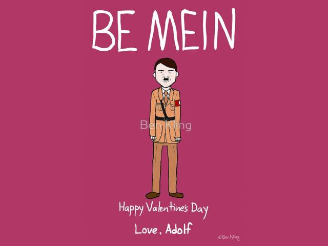 San Valentino: le cartoline d'auguri di Ben Kling