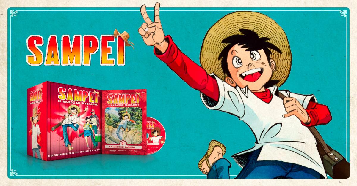 Sampei: l'anime in edicola con la Gazzetta dello Sport