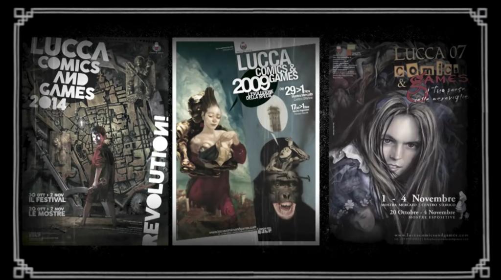 Lucca Comics 2015 - il manifesto part 02