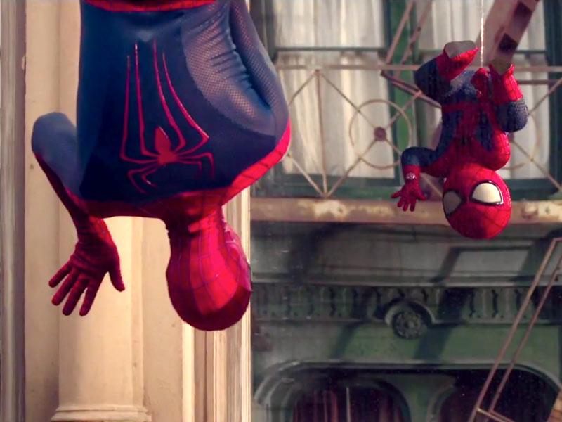 Spot Nerd (1): Spider-Man torna bimbo nello spot Evian Live Young