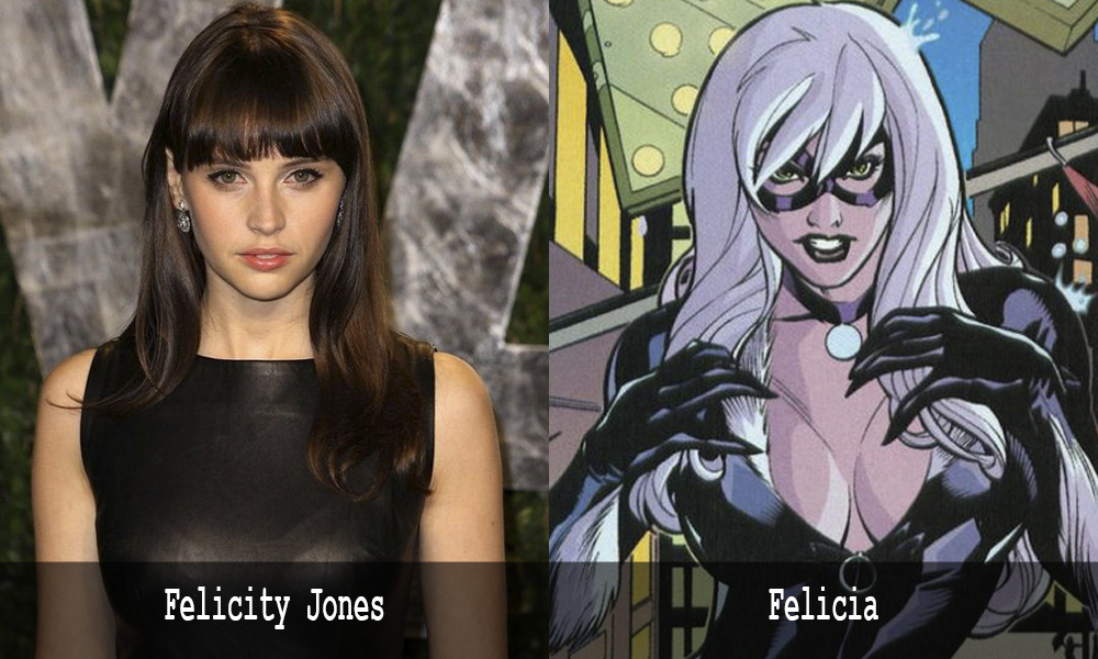 Felicity Jones è Felicia