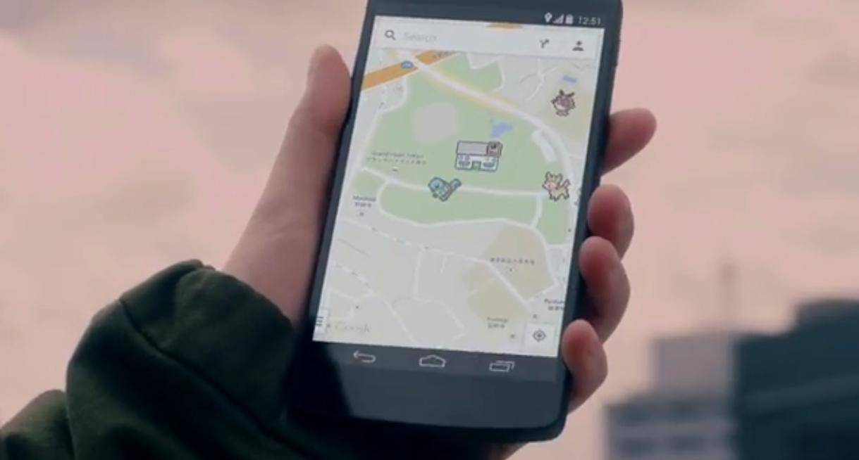 I Pokemon invadono Google Maps!!!