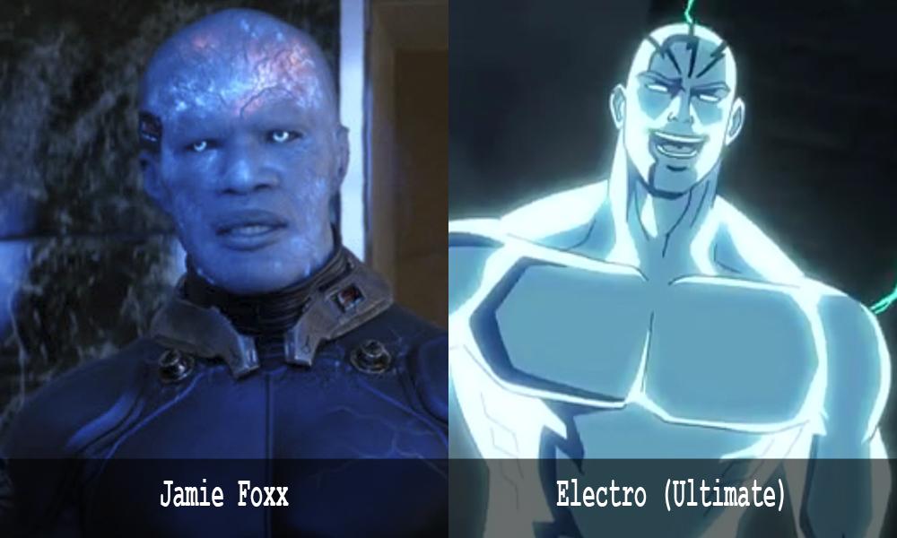 Jamie Foxx è Electro