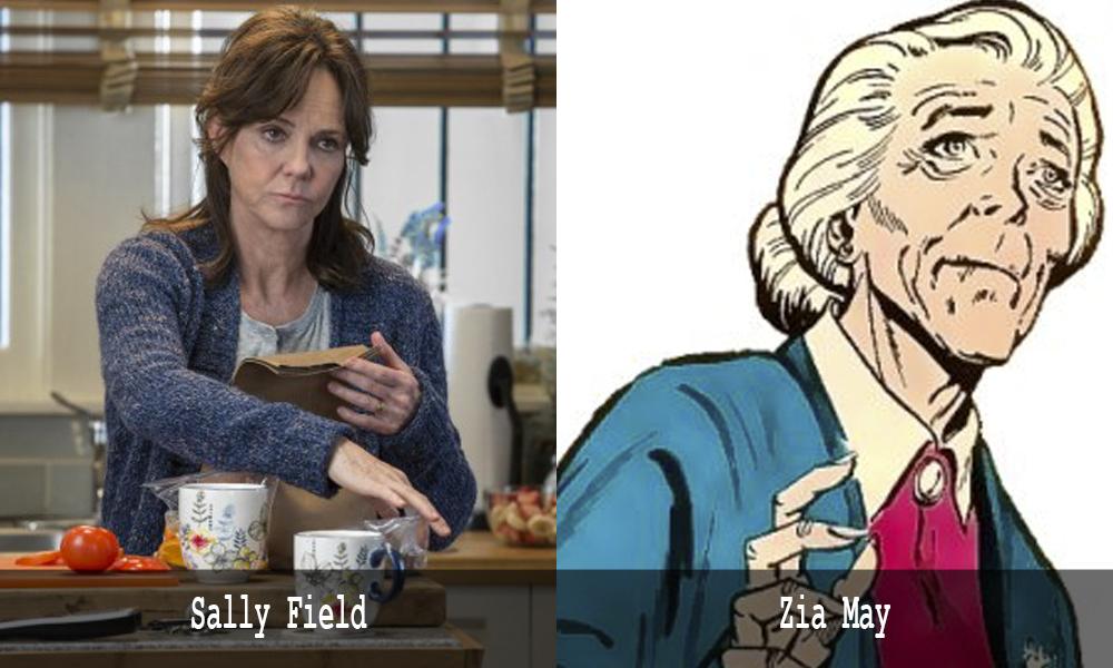 Sally Field è Zia May