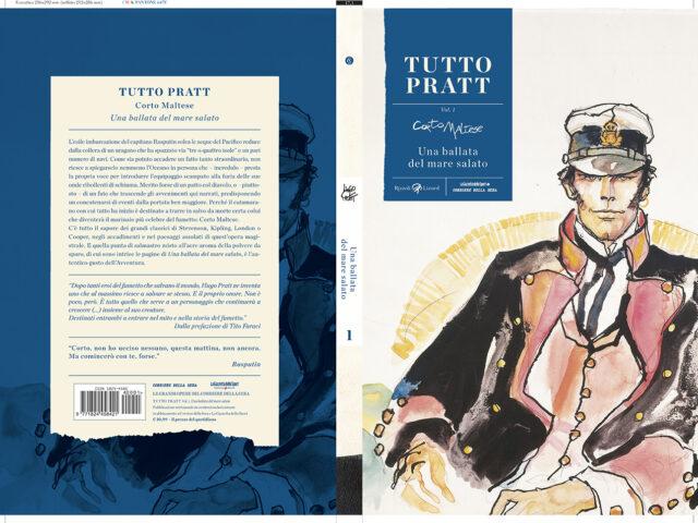 Tutto Pratt: in edicola i fumetti di Hugo Pratt (piano dell'opera)
