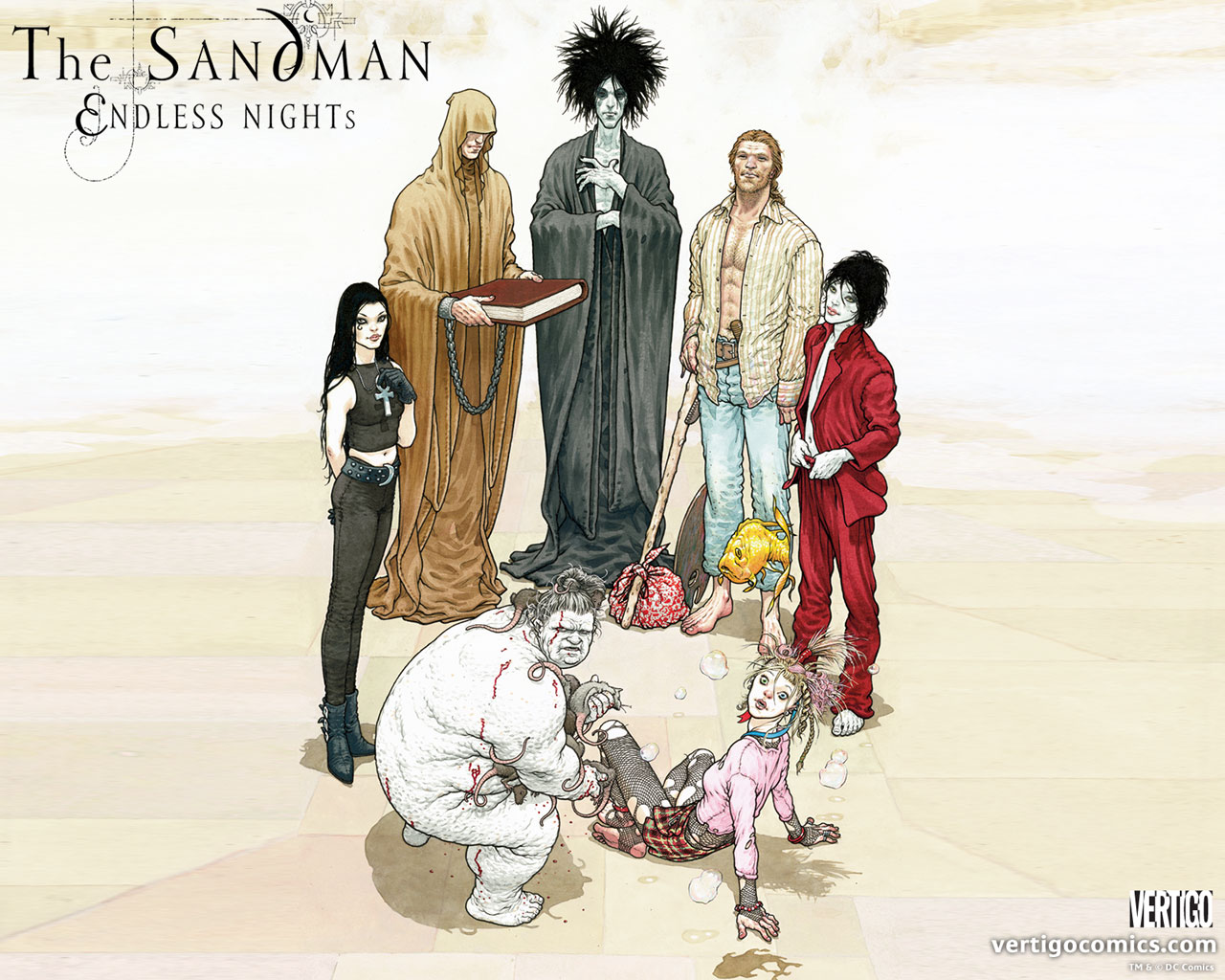 Pesce d'aprile: annunciato il cast del film di Sandman