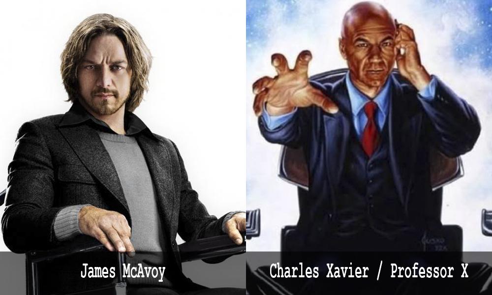 Charles Xavier - James McAvoy