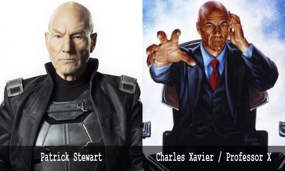Charles Xavier - Patrick Stewart