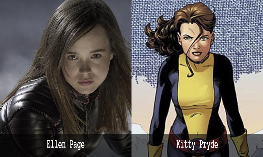 Kitty Pryde - Ellen Page