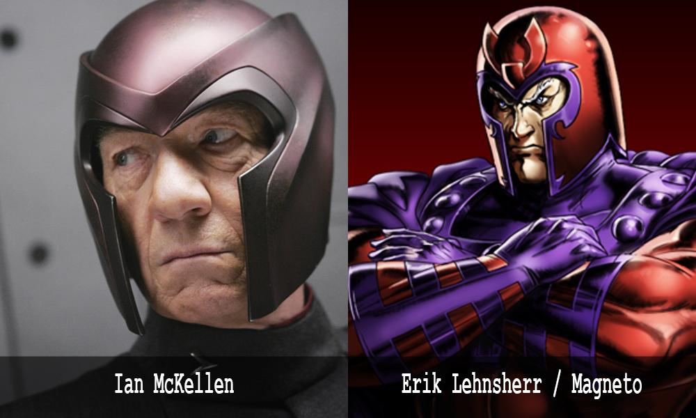 Magneto - Ian McKellen