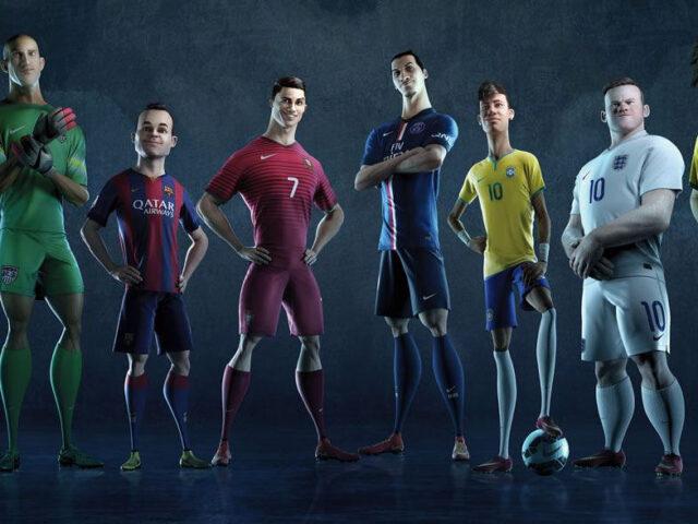 Mondiali 2014: lo spot Nike a cartoni animati [video]