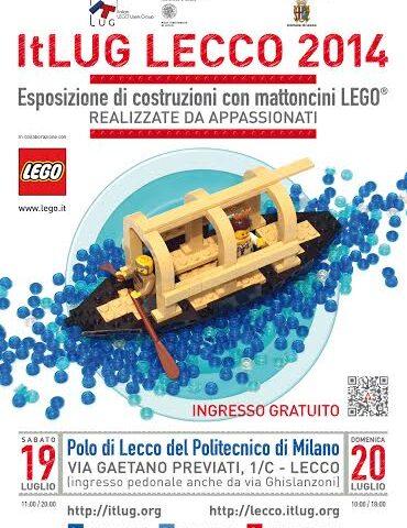 ItLUG Lecco 2014: la grande manifestazione dei LEGO
