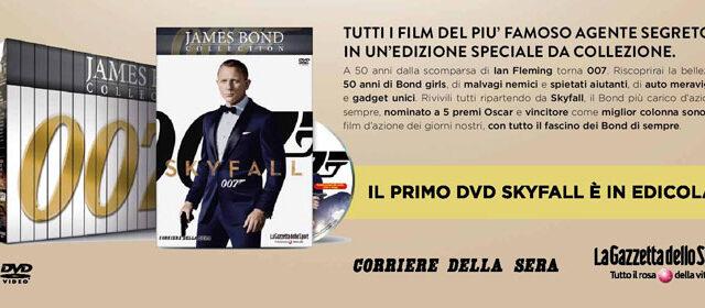 James Bond Collection: in edicola tutta la saga di 007 in DVD