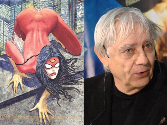 Milo Manara: la polemica sulla cover di Spider-Woman [gallery]