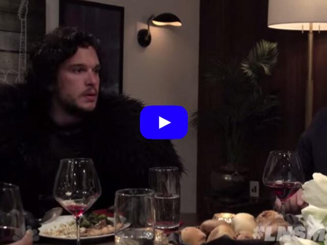 John Snow a cena con Seth Meyers [video]