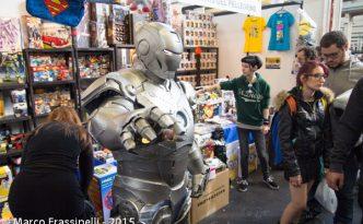 Torino Comics 2015: Iron Man cosplay