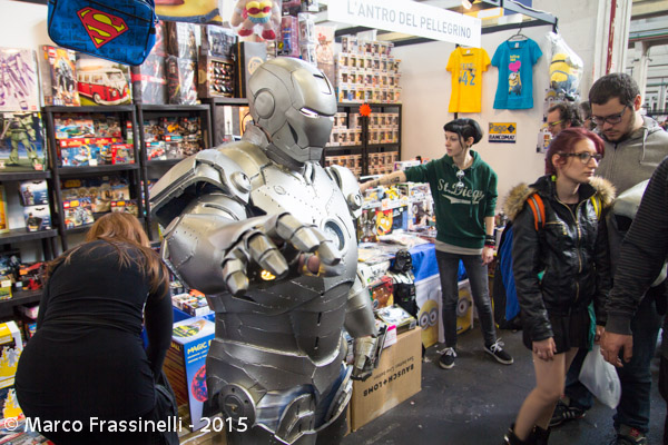 Torino Comics 2015: Iron Man cosplay