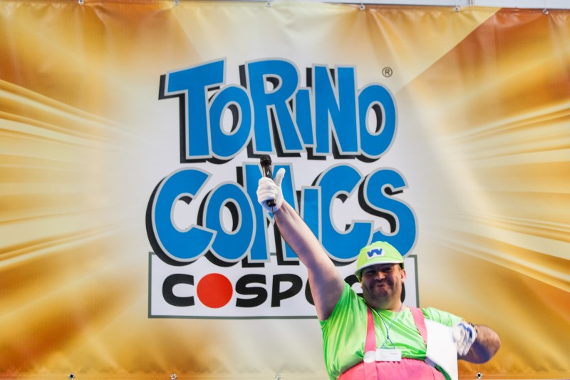 Torino Comics cosplay