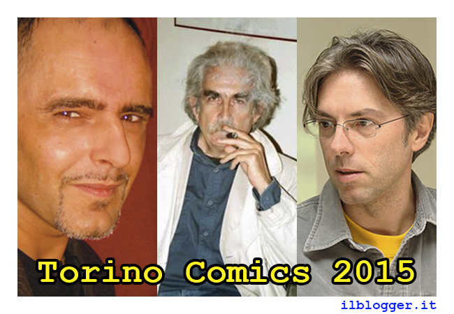 Torino Comics 2015: ospiti area Comics