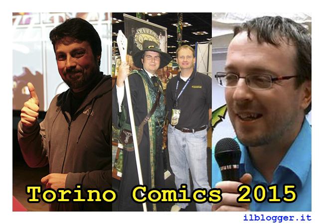 Torino Comics 2015: ospiti sezione Games