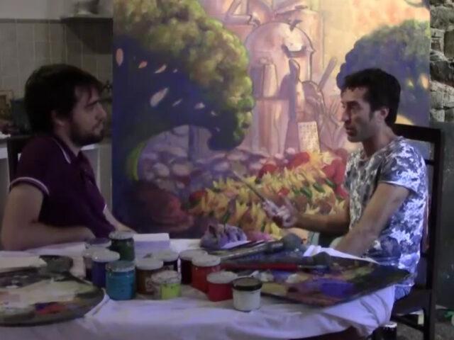 Video-intervista al pittore Christian Pankoff