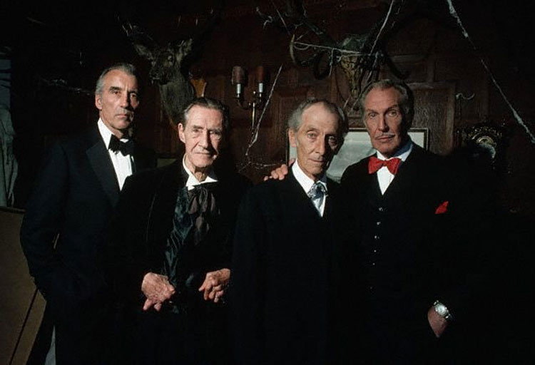 The house of the long shadows - Christopher Lee