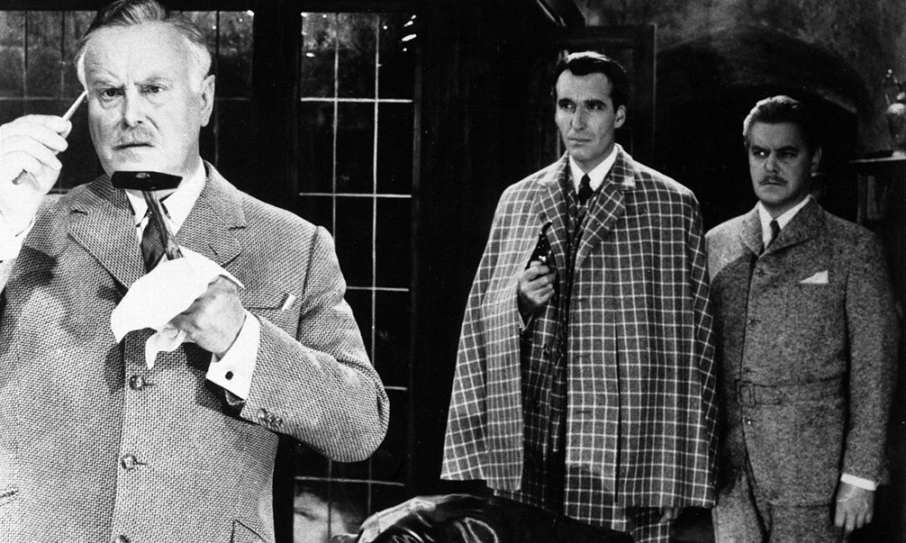 Sherlock Holmes la valle del terrore - Christopher Lee
